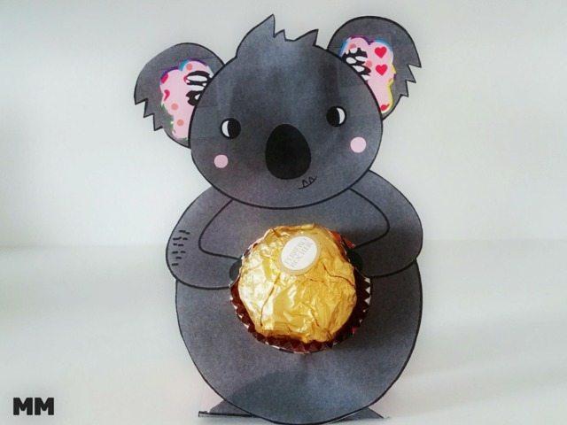 So bastelst du einen niedlichen Muttertagskoala