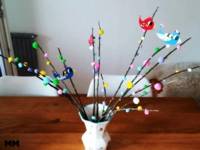 DIY – Frühlingszweige mit Vögelchen