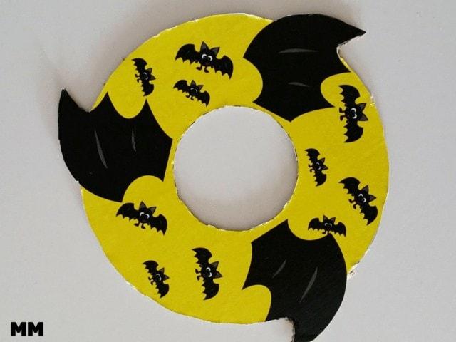 BATBEE Frisbee aus Karton basteln
