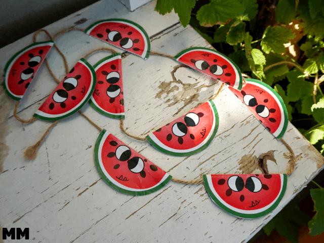 Melonendeko selber machen – mit Freebies
