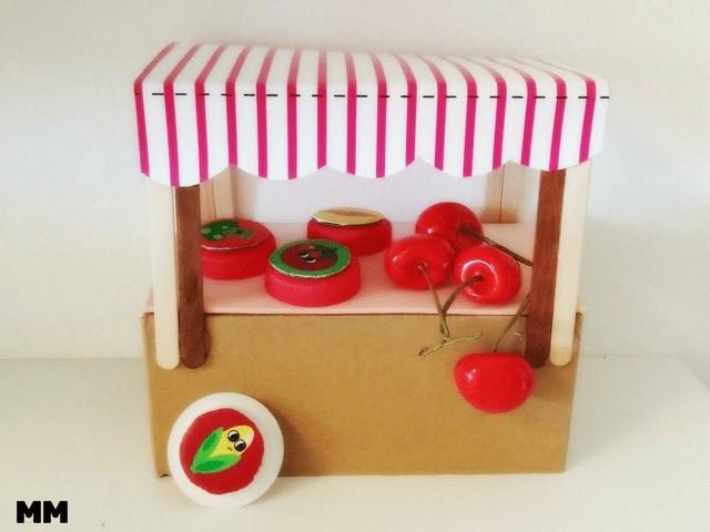 DIY – Puppenmarktstand