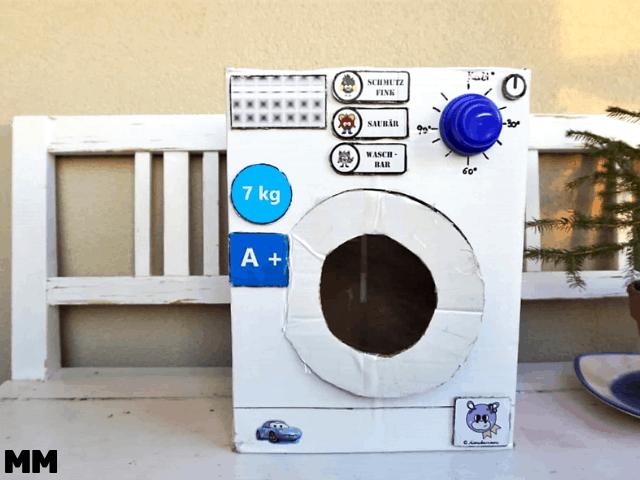 Wie du eine Waschmaschine zum Spielen bastelst