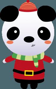weihnachtspanda