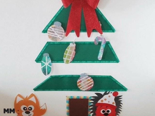 Weihnachtsbaumdeko mit Stabilo Woodys