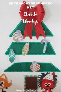 Weihnachtsbaumdeko aus Papier