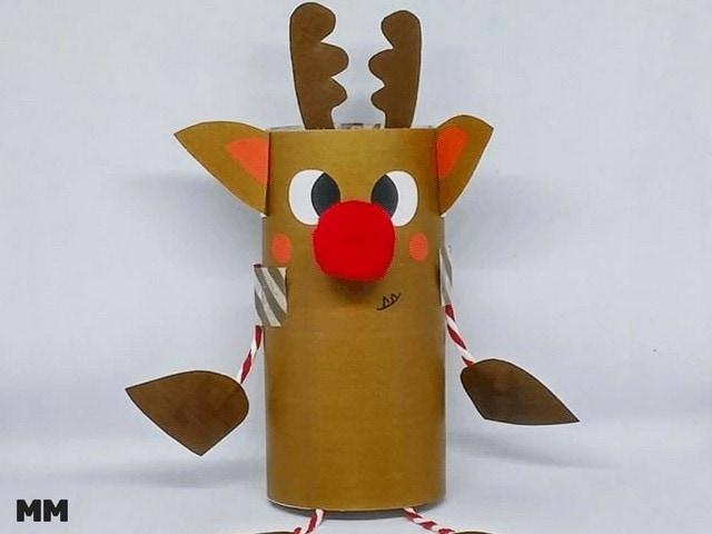 Rudolf das Klorollen Rentier