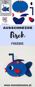 Ausschneidetier Fisch