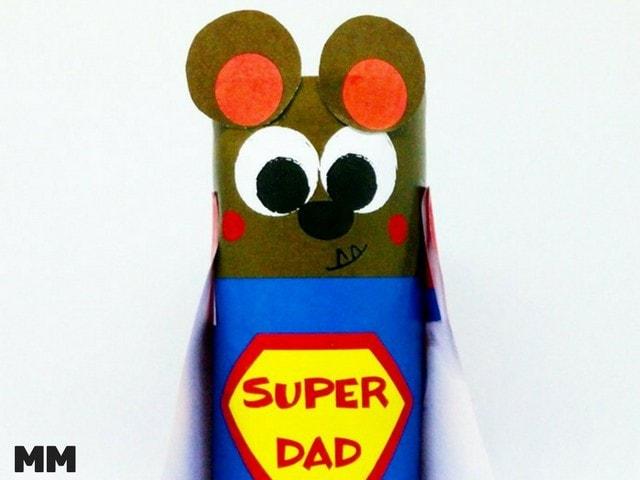 Superdad Bär für den Vatertag