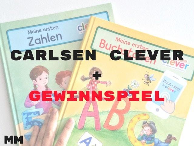 Carlsen Clever Bücher plus Gewinnspiel – Werbung