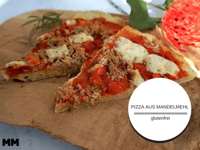 Lecker Pizza aus Mandelmehl – glutenfrei