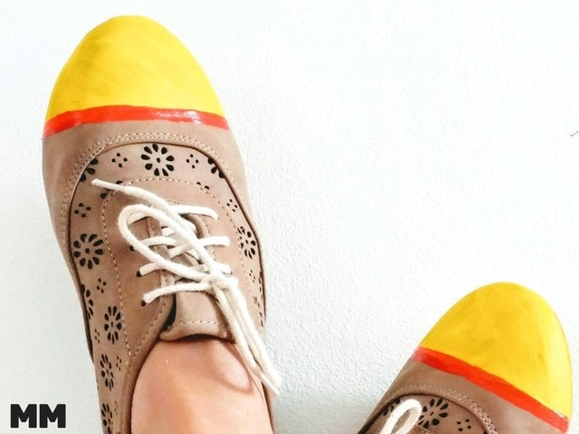 Mamas neue Schuhe