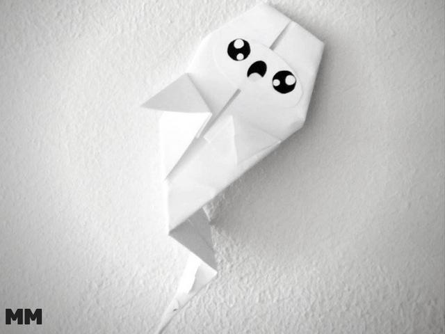 Origamis für Halloween ganz einfach