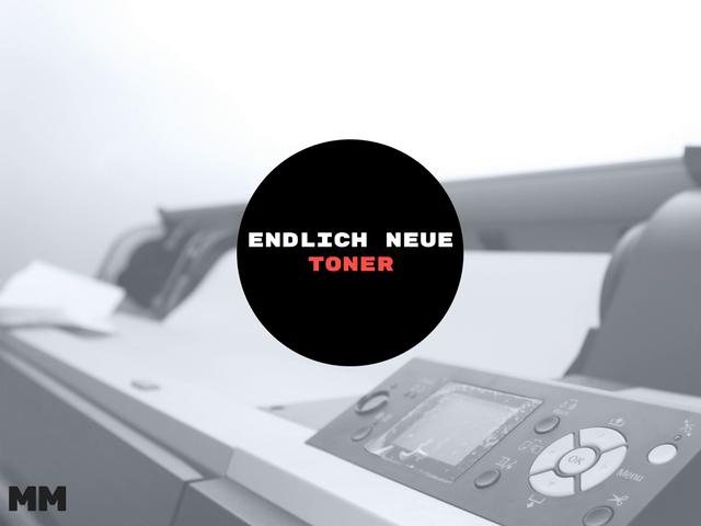 Anzeige – Endlich neue Toner für meinen Drucker
