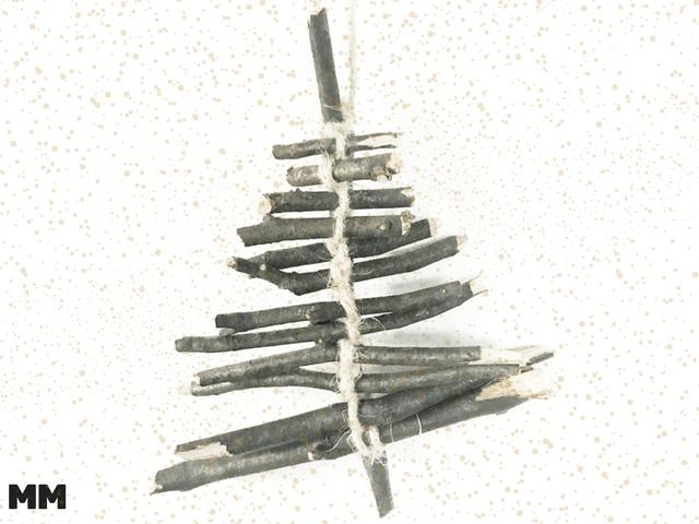 Christbaumschmuck aus Naturmaterialien