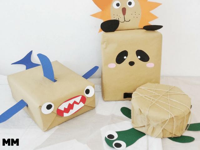 Tierische Verpackungsideen für Kinder