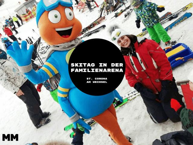 Anzeige- Skitag in der Familienarena in St. Corona am Wechsel