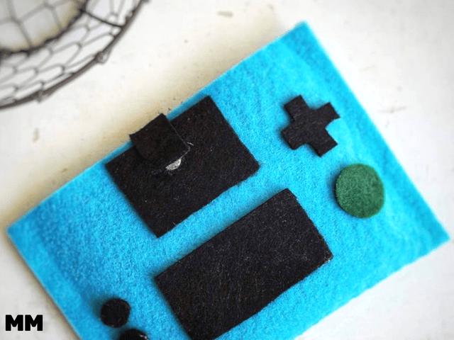 Filz Hülle für Nintendo 3 DS – ohne Nähen!