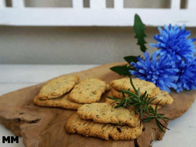 Knoblauch-Rosmarin Pizzabrötchen – glutenfrei!