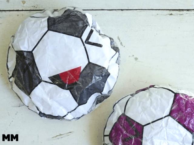 Fußball Squishy selber machen