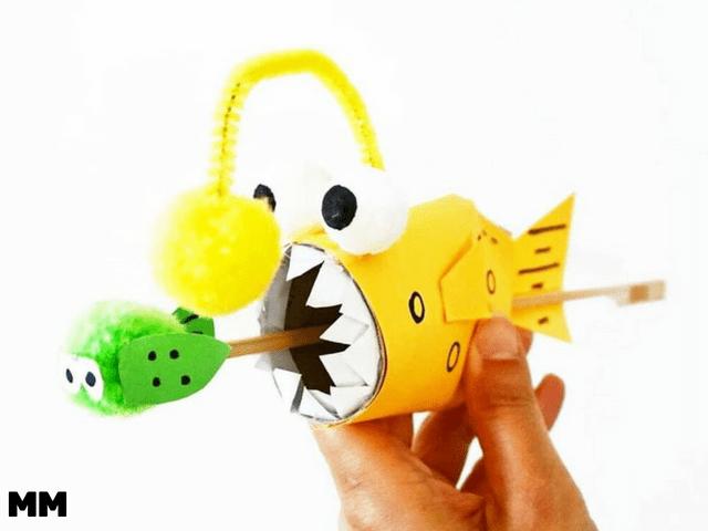 Pop-Out Anglerfisch basteln