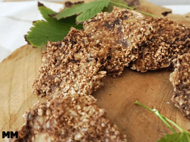 Einfache Hafercookies ohne Zucker und Ei