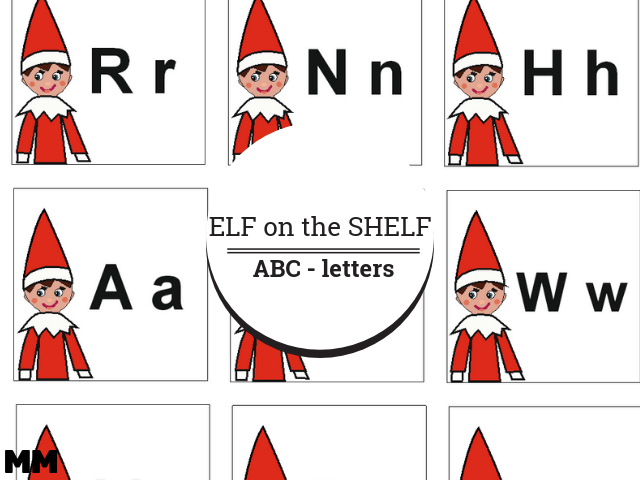 Elf on the Shelf ABC – Freebie