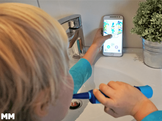 Anzeige – Mentadent Playbrush oder Zähneputzen kann Spaß machen!