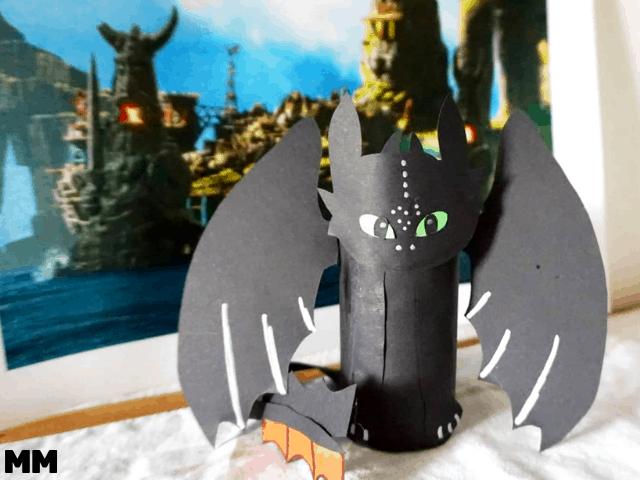 Ohnezahn – So bastelst du den niedlichen Drachen