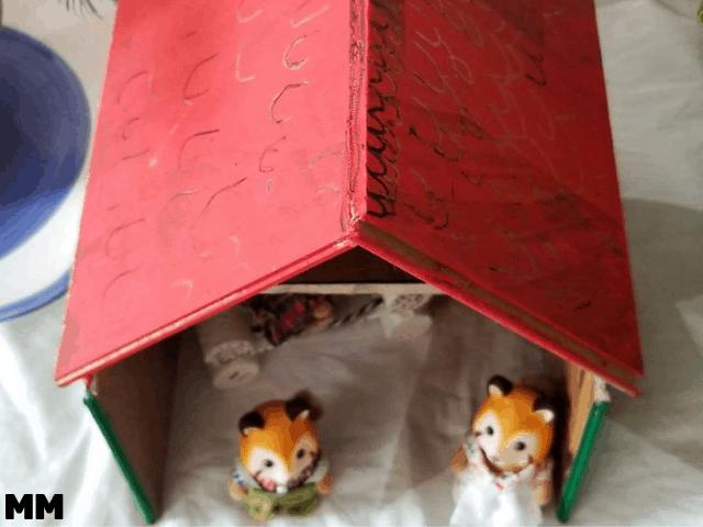 DIY Puppenhaus aus altem Laminat