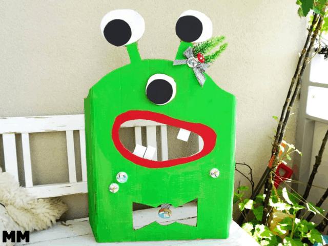 Monster Wurfspiel für die Kinderparty