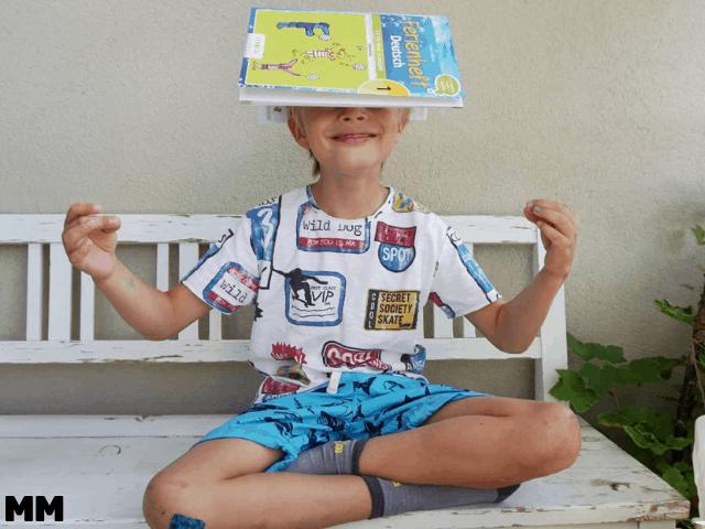 Wieso und wie wir in den Ferien üben–mit Anzeige für Ferienhefte von Veritas