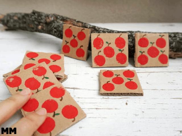 Multiplizieren lernen mit Mengenkärtchen – Home Schooling in Coronazeiten