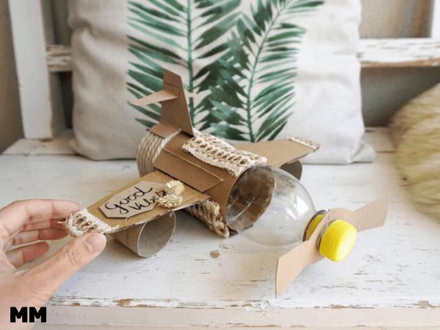 Flugzeug-Geschenkidee für Groß und Klein